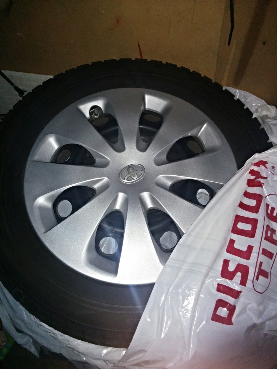 Winter Tires Vancouver >> For Sale - Prius C set of OEM 15 inch steel wheels with ...
