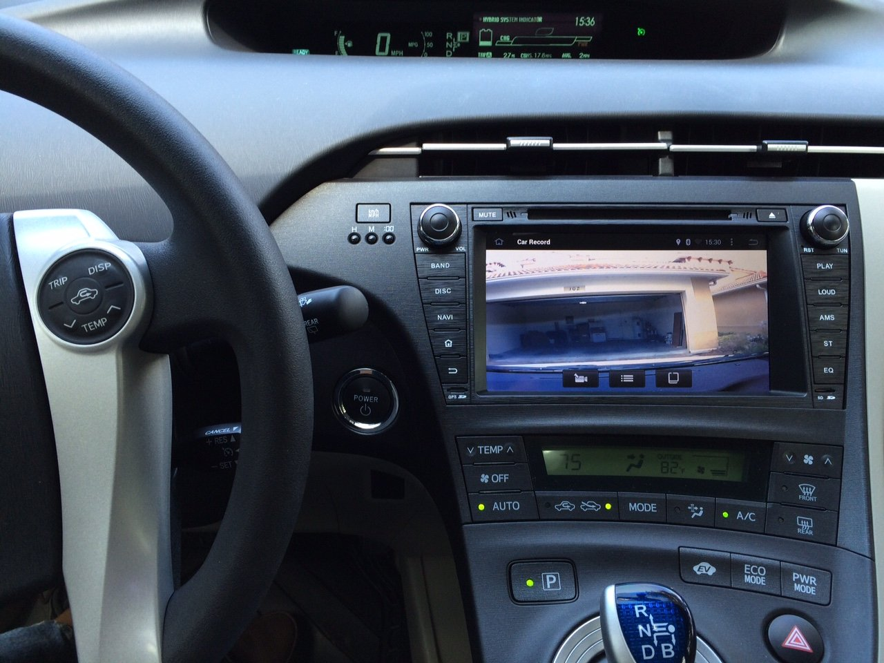 2010 prius aftermarket radio installer