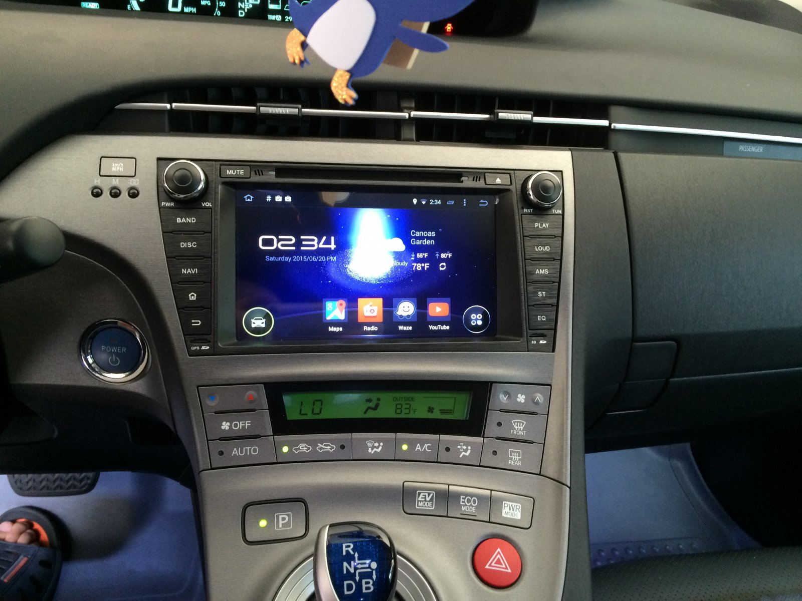 2015 Prius Three  Not Iii  Android 4 4 4 W  Oem Camera
