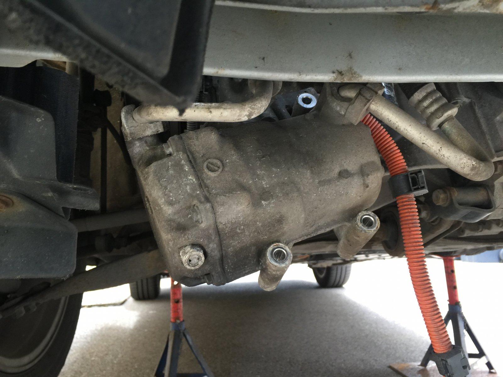 Compressor change in a Gen II   PriusChat
