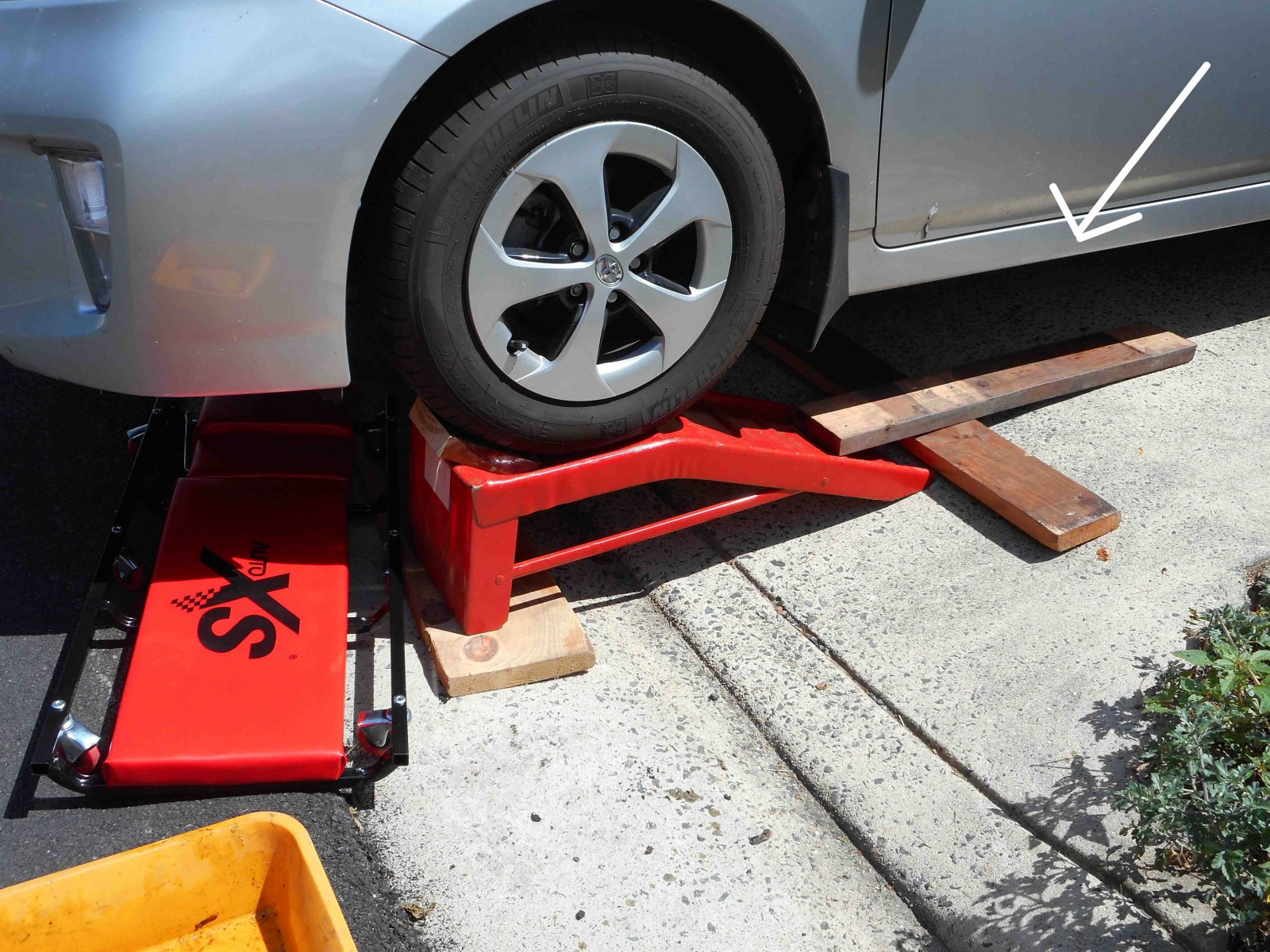 Diy car service ramps