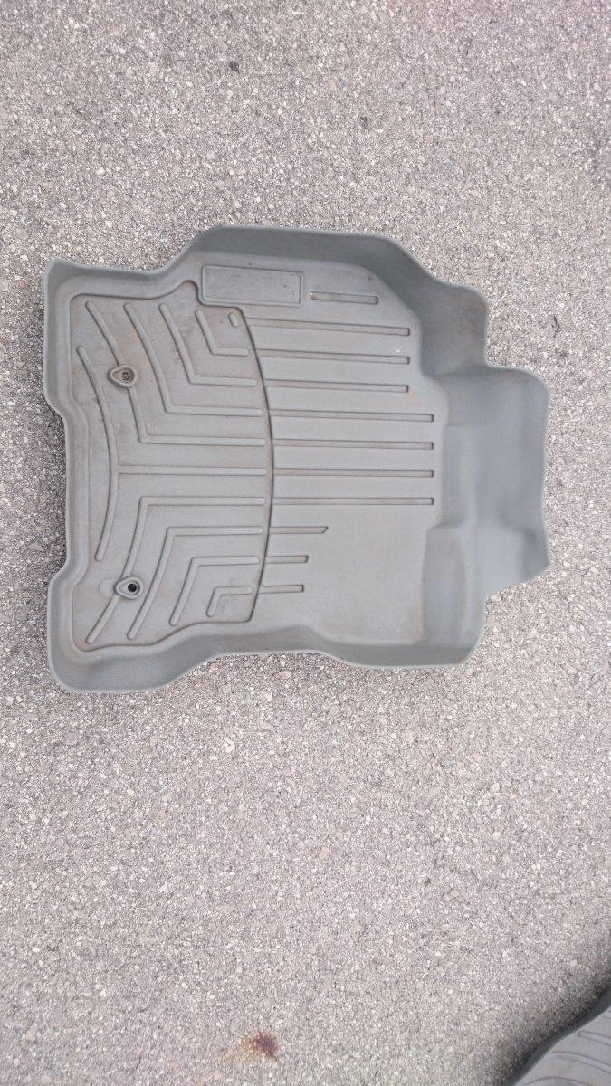 Weathertech mat sticker - Prius 4 Jpg