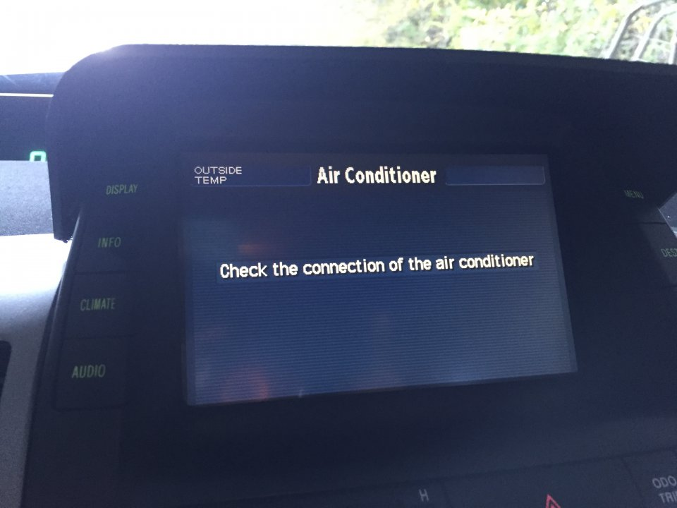 U0026quot Check The Connection Of The Air Conditioner U0026quot  Message