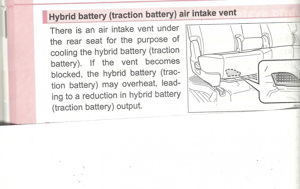 traction battery air intake vent priuschat rh priuschat com prius alpha 2013 manual prius alpha user manual
