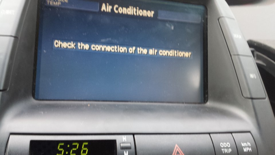 2005 Prius Battery >> Check the connection of Air Conditioning Error | PriusChat