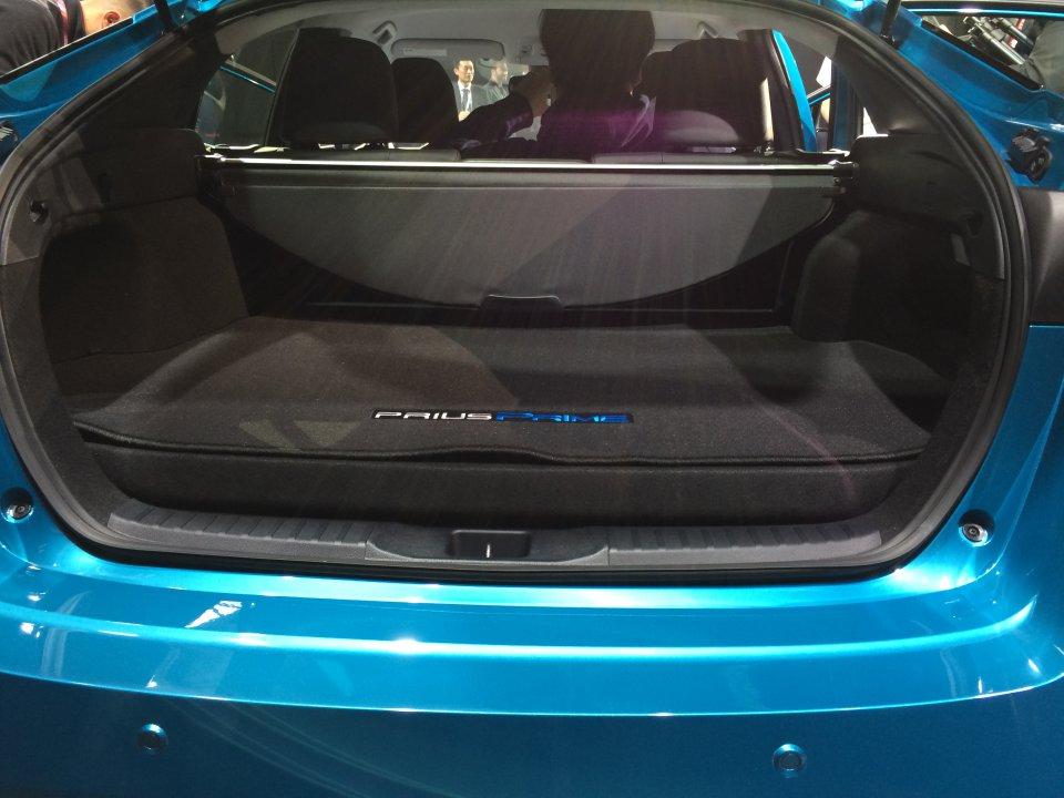 2017 Prius Prime Cargo Space 3 Priuschat