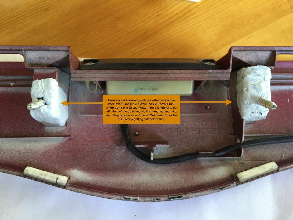 Options for Broken Rear Garnish Fasteners? | PriusChat
