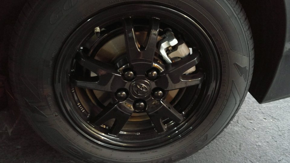Rim Bands With Black Alloy Wheels Priuschat
