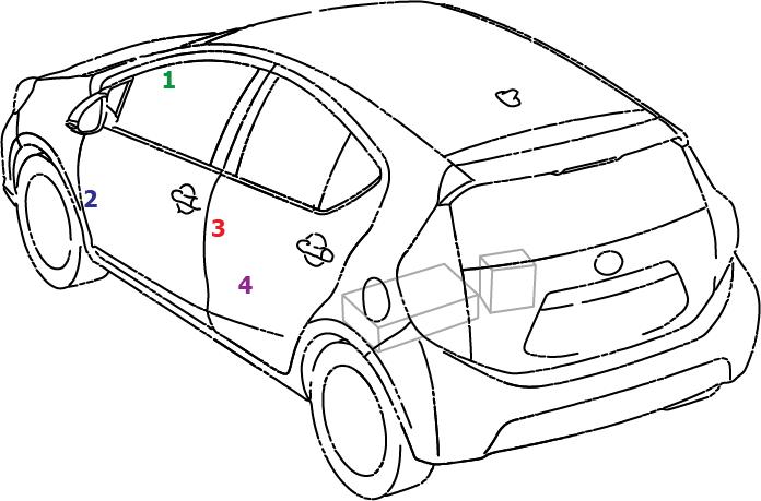 Prius C One 2015