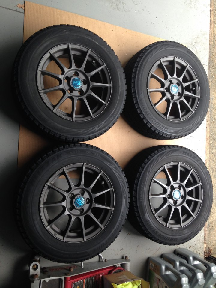 Blizzak Winter Tires >> For Sale - Winter wheels and tires (MSW and Blizzak) | PriusChat