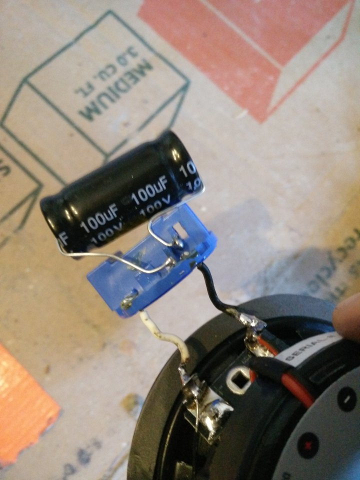 Dash Speaker Bass Blockers Non Functional