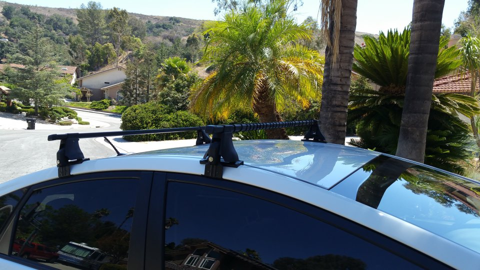 For Sale Thule 400xt Roof Rack Setup For Gen 3 Prius