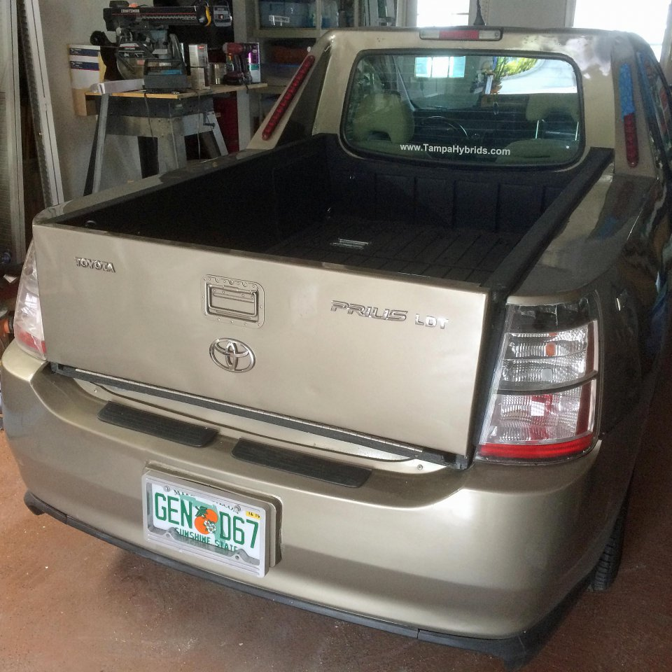 2005 Prius To Light Duty Pickup Truck Conversion Page 3