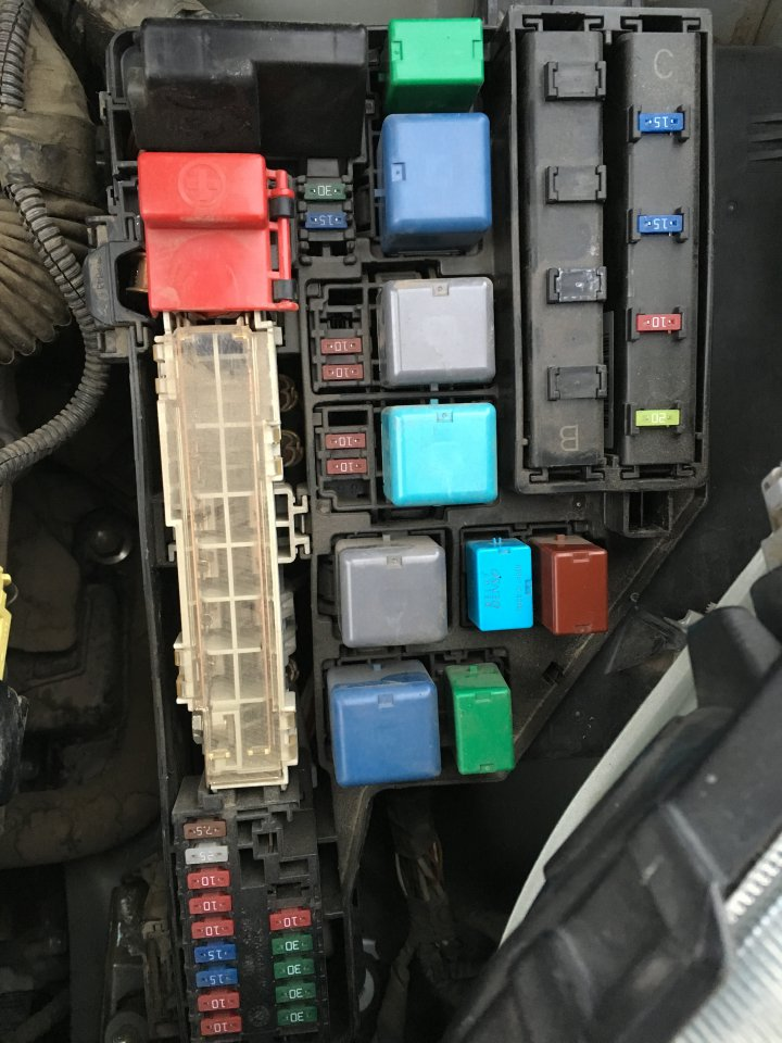 Prius 2004 Main Relay Fuse Box 30 Wiring Diagram Images