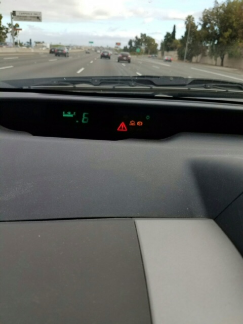 Red warning light and check engine light | PriusChat