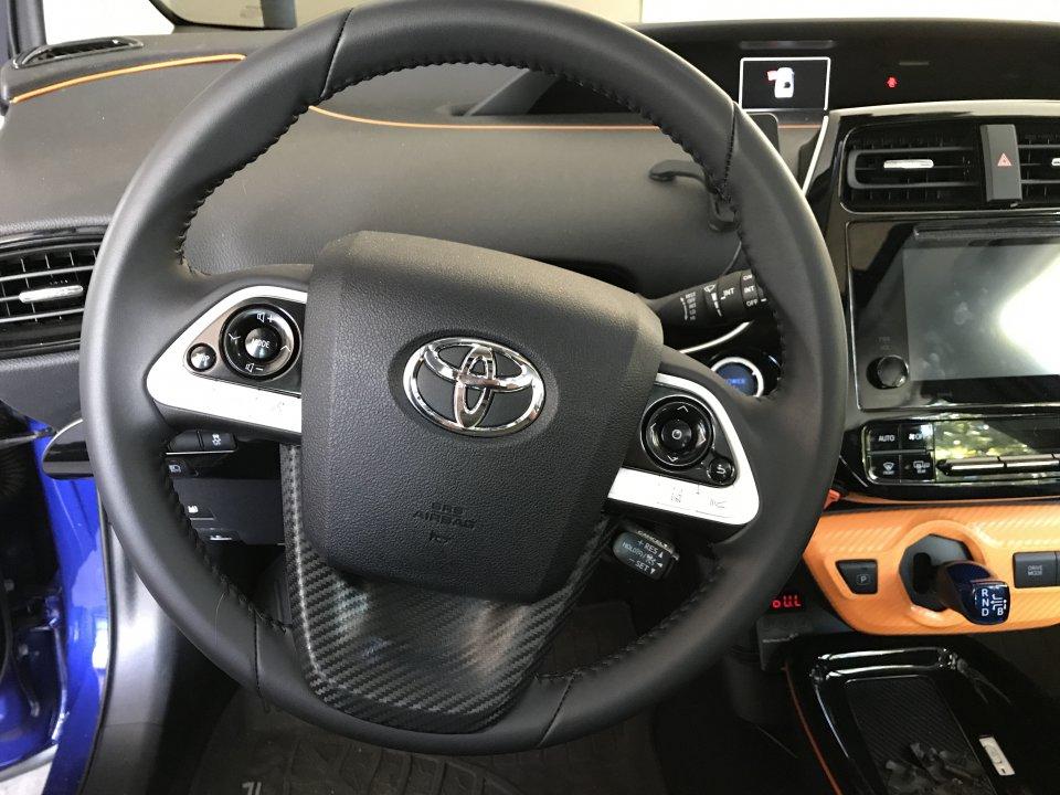 Black Steering Wheel Appliqu 233 Page 2 Priuschat