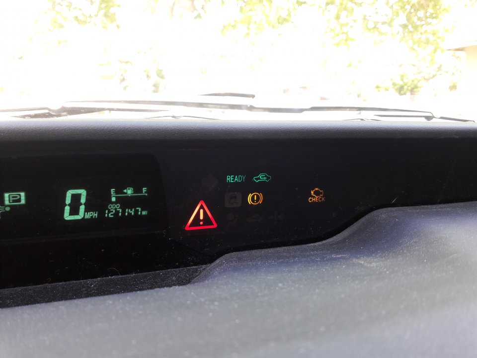 Help with warning lights: Check Engine, Yellow indicator