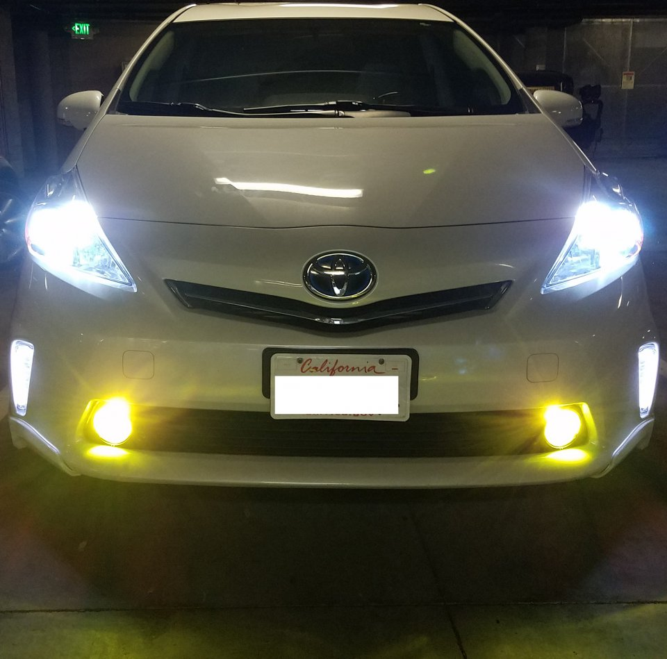 Fog Light Install W Oem Turn Signal Stalk Switch Priuschat Bumper Clear Lights Lamps With Wiring Replacement Ebay 20170711 010300 010313