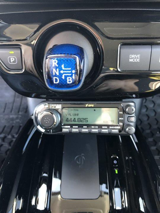 Gen 4 Amateur radio installation | PriusChat