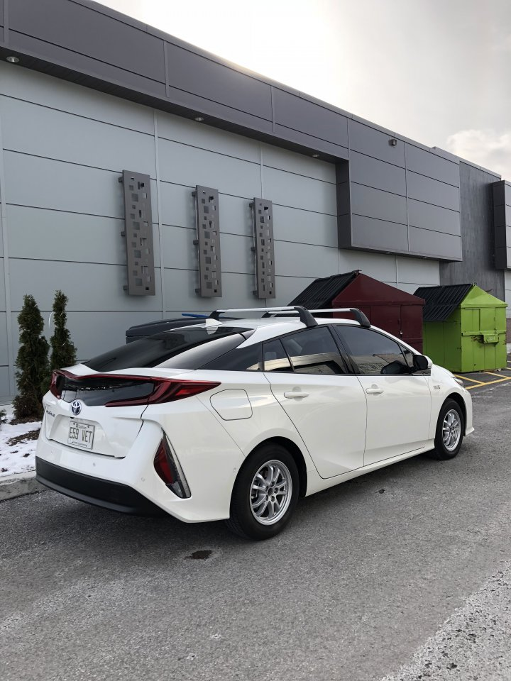 Prius Roof Rack >> Prius Prime Roof Rack & Cargo Box Combo that WORKS! | PriusChat