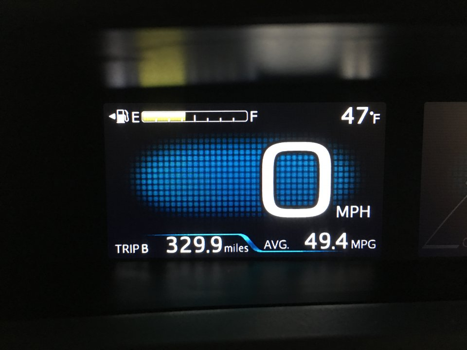My first 330 miles in my new 2017 Eco-->49.4mpg- I\'m Lovin\' it ...