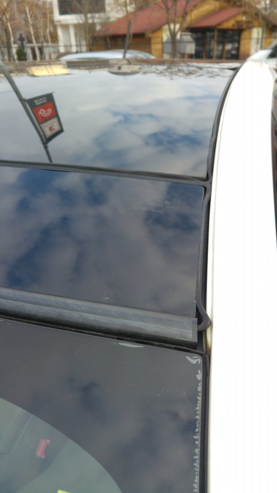 2011 Prius Sunroof Deflector Seal Deterioration Page 3
