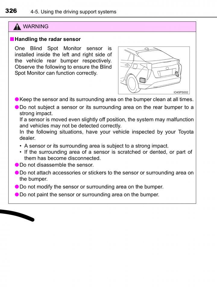 Cleaning Radar SENSORS | PriusChat