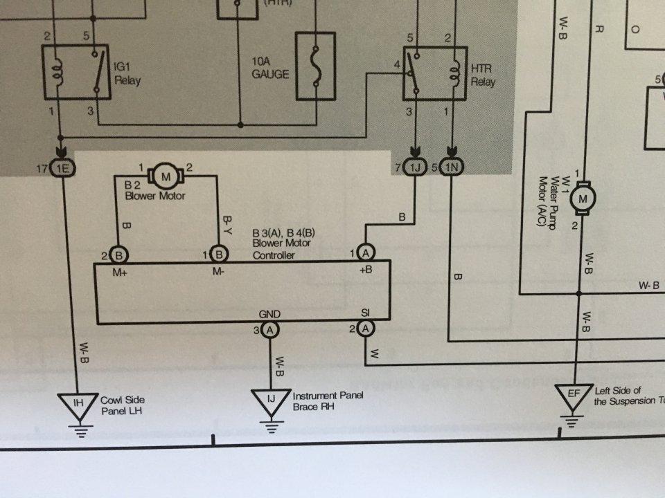 Mar Wiring Diagram Blower Motor