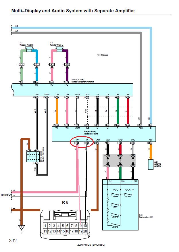 2013 Prius V Wiring Diagram - Explained Wiring Diagrams