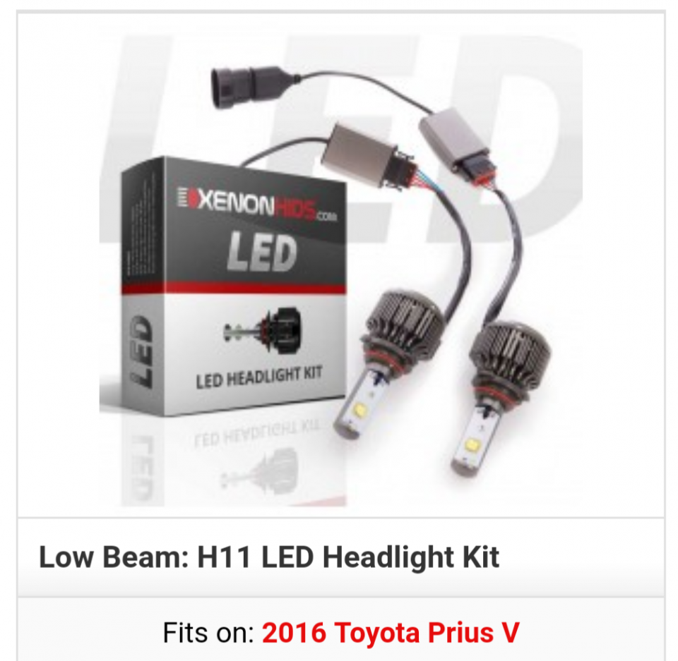 Headlight Bulb Upgrade To Led Priuschat Can Bus Questions Img 20181031 040630