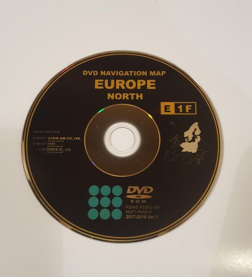 TOYOTA Prius NAV DVD DISC MAP UPDATE | PriusChat on