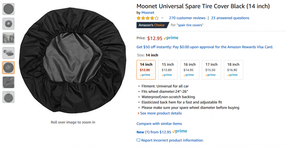 Moonet Universal Spare Tire Cover Black (14 inch).png