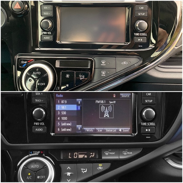Prius C radio housing.JPG