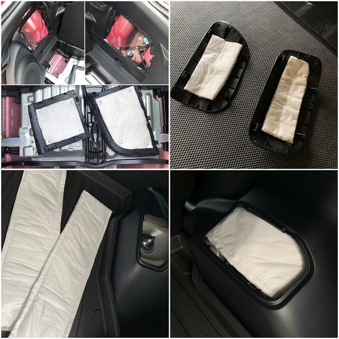 2018 Prius C thinsulate rear strut top.JPG
