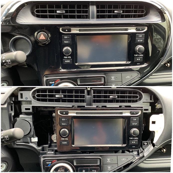 2018 Prius C radio panel.JPG