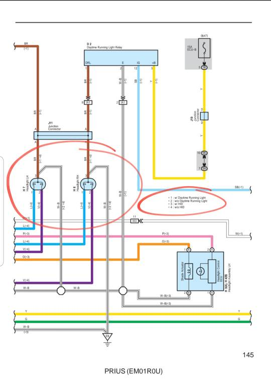 Help! Need help wiring a headlight | PriusChatPriusChat