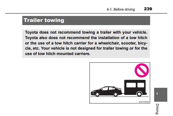 Prius - No Towing.JPG