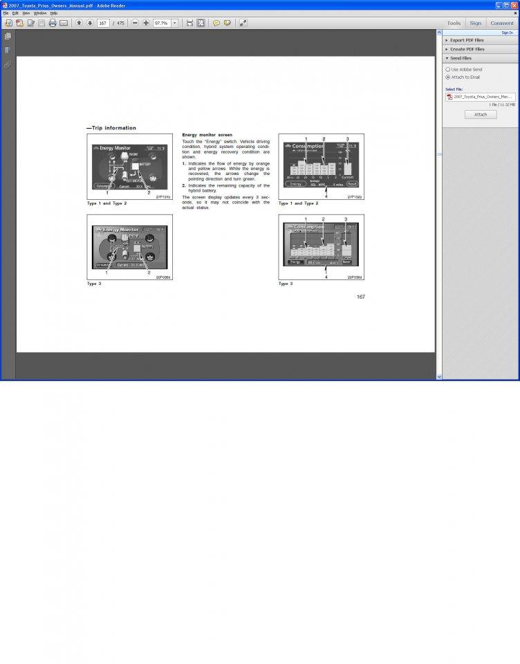 2007 Prius Owners Manual, Page 167.JPG