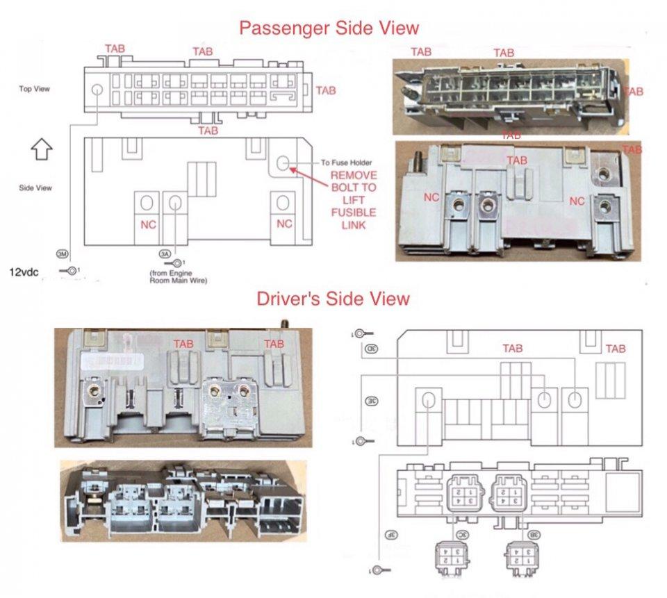 Prius Gen2 Fusible Link Passenger & Drivers Side Views.JPG