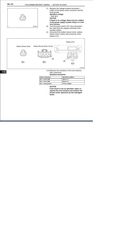 Prius Gen 2 Manual, Page HB-160.JPG